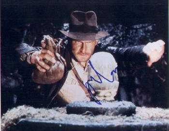 Autographed Harrison Ford