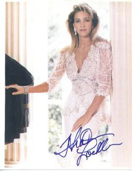 Autographed Heather Locklear