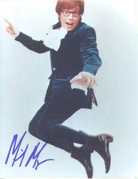 Autographed Mike Myers