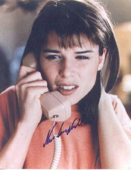Autographed Neve Campbell