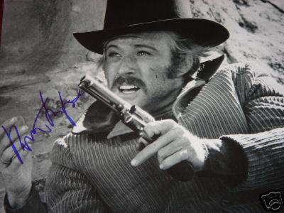 Autographed Robert Redford