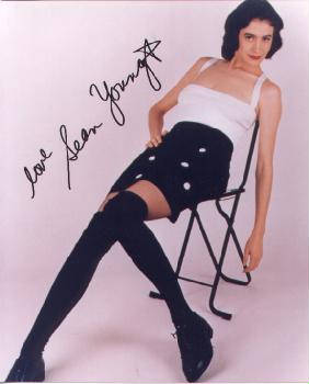Sean Young Autographed Photo