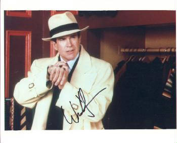 Autographed Warren Beatty