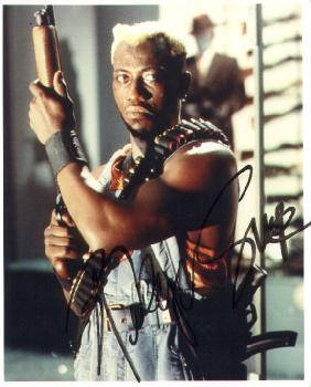 Autographed Wesley Snipes