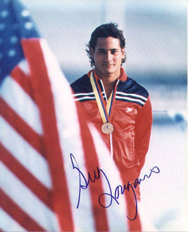 Autographed Greg Louganis