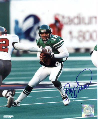 Autographed Ray Lucas