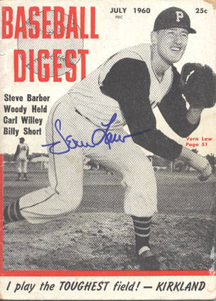 Autographed Vern Law