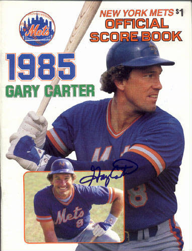 Autographed Gary Carter