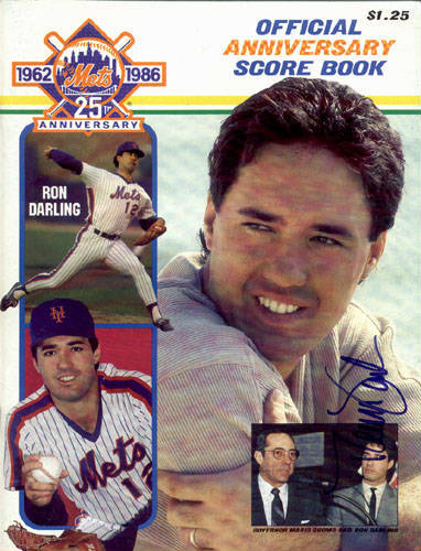 Autographed Ron Darling