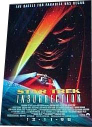 Autographed Star Trek Next Generation Movie Poster
