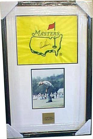 Autographed Arnold Palmer