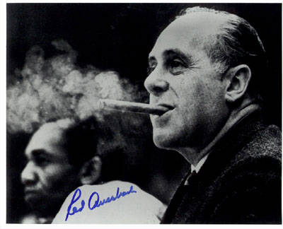 Autographed Red Auerbach