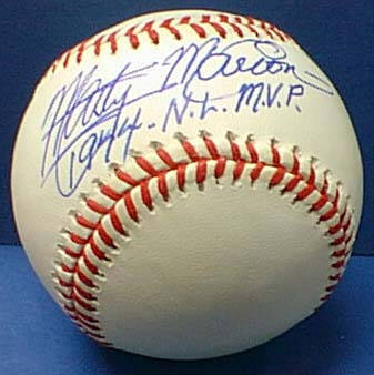 Autographed Marty Marion