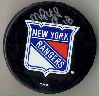 Autographed Mike York