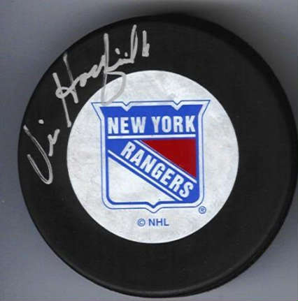 Autographed Vic Hadfield