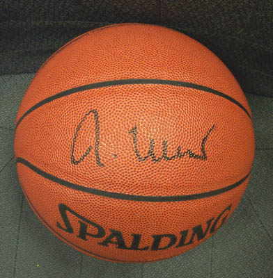 Autographed Jerry West