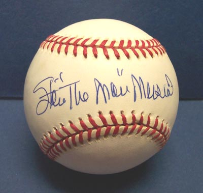Autographed Stan Musial