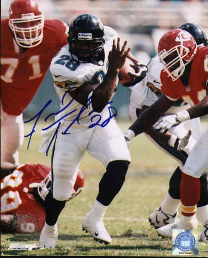 Autographed Fred Taylor