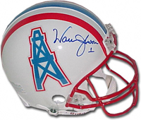 Autographed Warren Moon