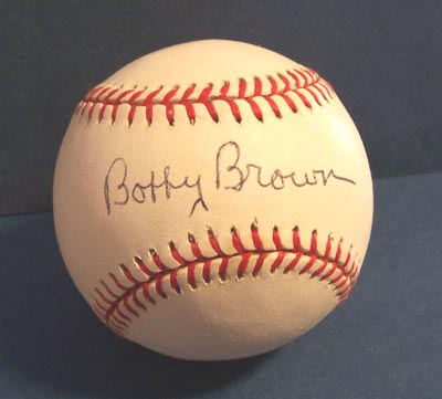 Autographed Bobby Brown