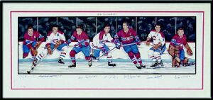 Autographed Montreal Canadiens Hall of Famers