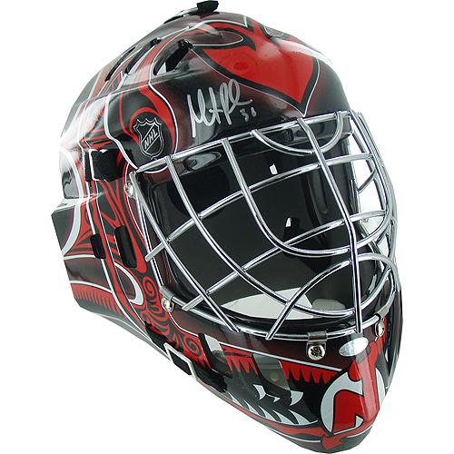 Martin Brodeur Full Size Autographed Goalie Mask